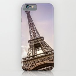 PARIS Eiffel Tower at sunset iPhone Case
