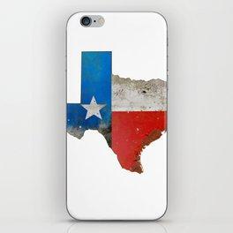 Rustic Texas Sign iPhone Skin