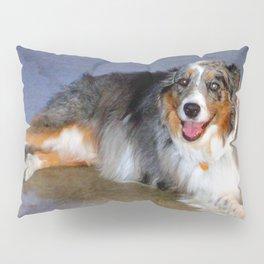 Australian Shepherd Pillow Sham
