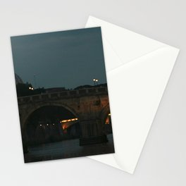 Bridges of Rome in the Evening Stationery Cards