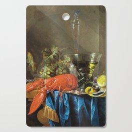 Cornelis De Heem - Still Life With Lobster Cutting Board