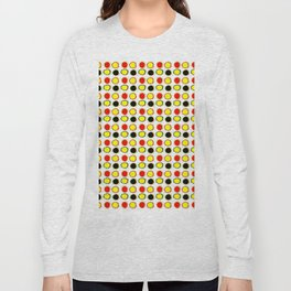 Funny sun- sunny,heat,summer,light,sunlight,bright Long Sleeve T-shirt