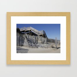Beach Lines Framed Art Print