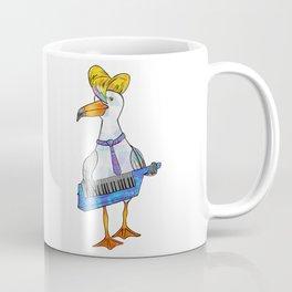Seagull on Keytar Coffee Mug