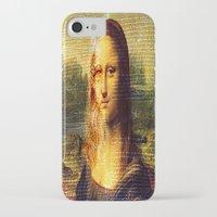 da vinci iPhone & iPod Cases featuring The Da Vinci Code by  Agostino Lo Coco