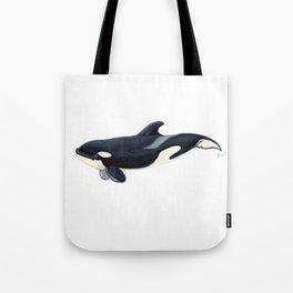 Baby orca Tote Bag