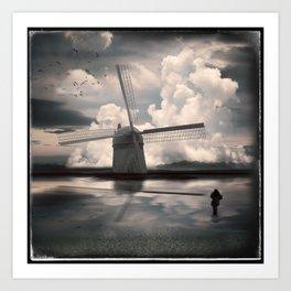 Muddy Waters, Fresh Wind Art Print