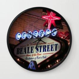 Beale Street, Memphis Wall Clock