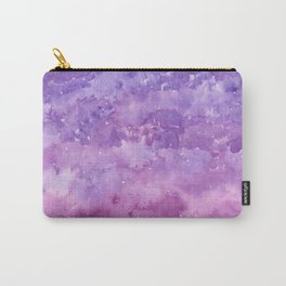 #78. STEPHANIE - Purple Ombre Carry-All Pouch