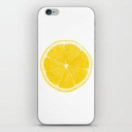 LOVE LEMON iPhone Skin