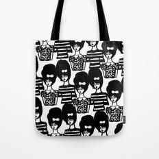 Bouffant Girls Tote Bag