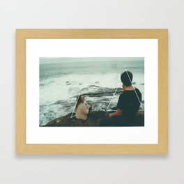 roomies Framed Art Print