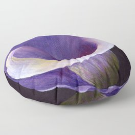 Lavender Calla Lily Floor Pillow