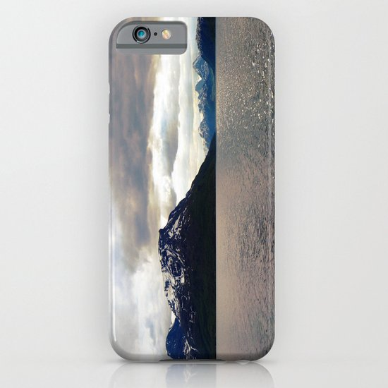 lyngen fjord panorama, norway. iPhone & iPod Case