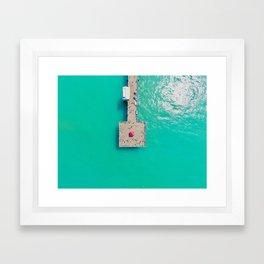 Pier Pressure Framed Art Print