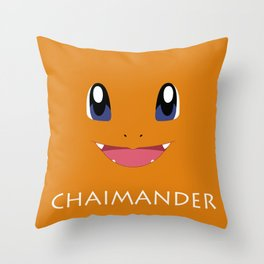 Chaimander all over Throw Pillow