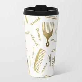 Good Hair Day – Gold Palette Travel Mug