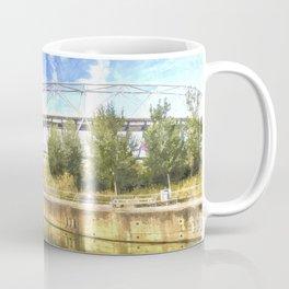 West Ham Olympic Stadium Art Coffee Mug