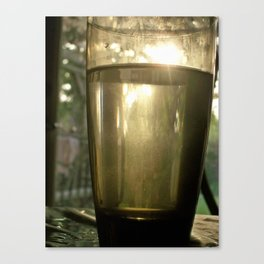 Tall drink of water Canvas Print
