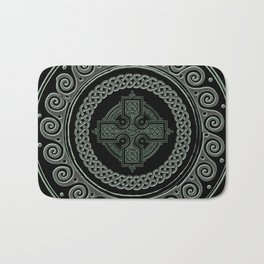 Awesome Celtic Cross Bath Mat