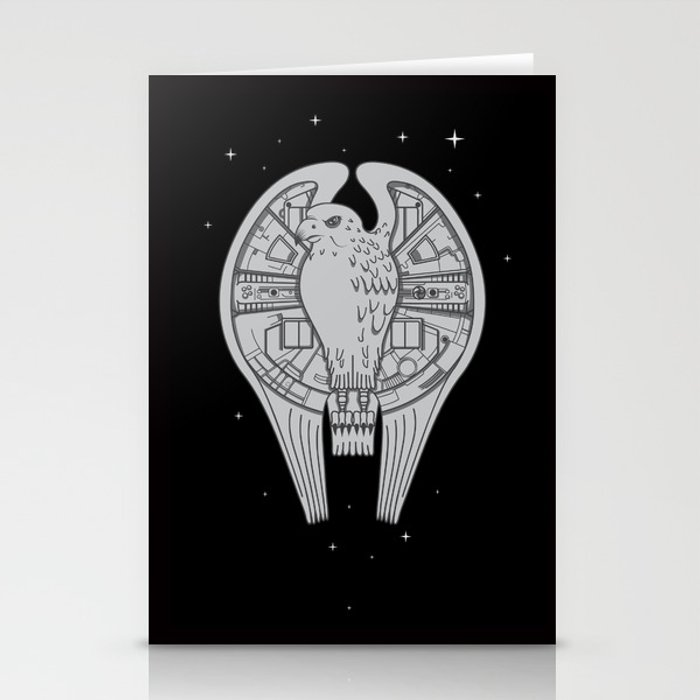 The REAL Millenium Falcon Stationery Cards