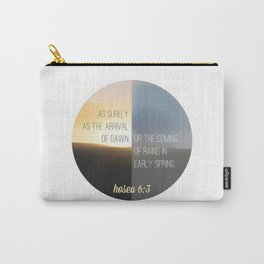 Hosea 6:3 Carry-All Pouch
