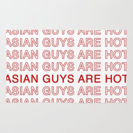 Asian Guys Are Hot Rug