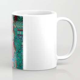 Eaves of a Buddhist Temple Coffee Mug