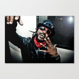 Skindred (Benji Webbe) Canvas Print
