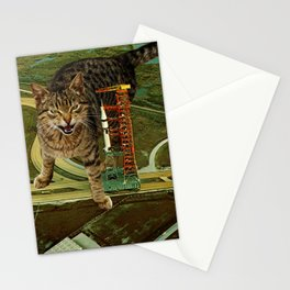 Missile Command Stationery Cards