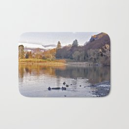 By the Lakeside - Derwent Water Bath Mat