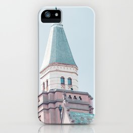 Pastel in City iPhone Case