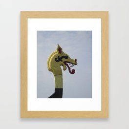 Hugin Framed Art Print