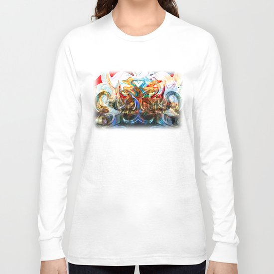 liquified space Long Sleeve T-shirt