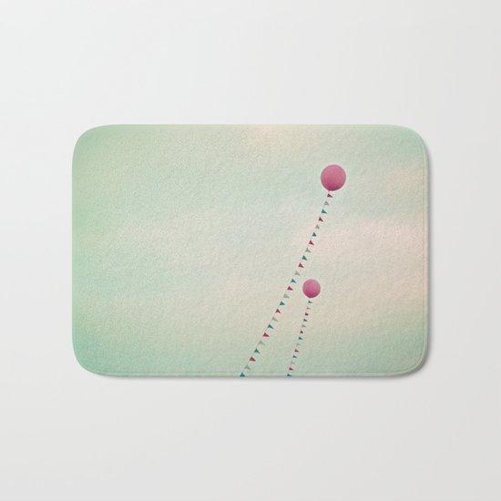 Whimsical Balloons Bath Mat