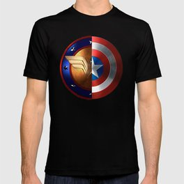 Wonder Woman/Captain America T-shirt