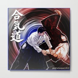 Aikido: The Way of Harmonious Spirit Metal Print