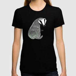 Adorable Badger ( Meles meles ) T-shirt