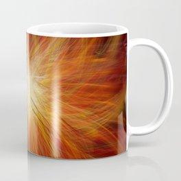 Abstract Sunburst Coffee Mug