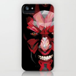 Dark Maul iPhone Case