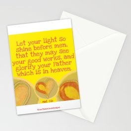 Matthew 5:16 Stationery Cards