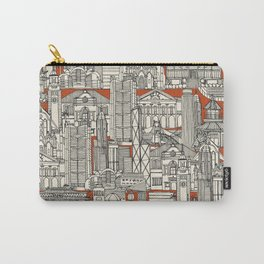 Hong Kong toile de jouy Carry-All Pouch