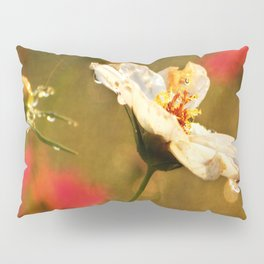 Flowers in the Rain Pillow Sham