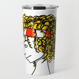 Poppy Popcorn | Veronica Nagorny Travel Mug
