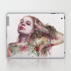 Leaves on Skin Laptop & iPad Skin