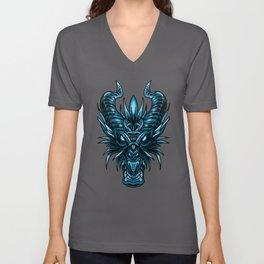 Dragon Monster Fiend Drake Serpent Wild Beast Gift Unisex V-Neck