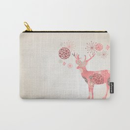 Flower deer Carry-All Pouch