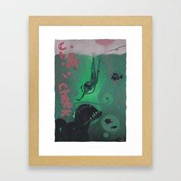 he has a soul Framed Art Print