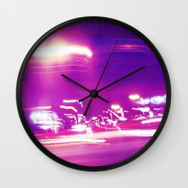 Night Drive Wall Clock