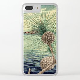 A Hidden View of O-nen Shore Clear iPhone Case